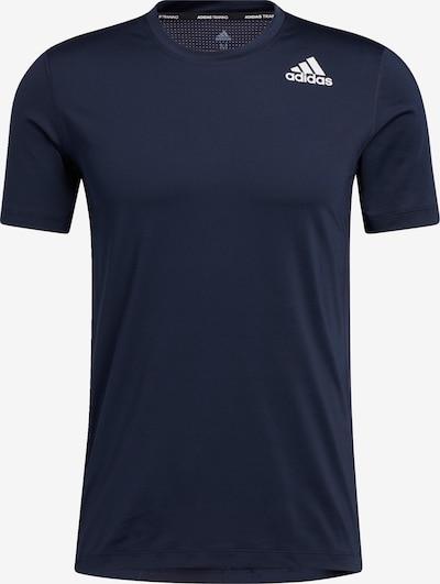 ADIDAS PERFORMANCE Toiminnallinen paita värissä laivastonsininen / valkoinen, Tuotenäkymä