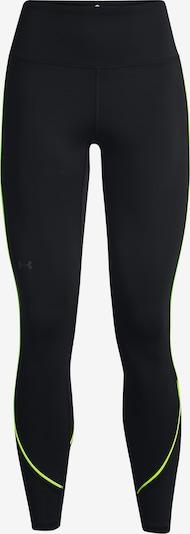 Pantaloni sportivi 'RUSH' UNDER ARMOUR di colore giallo neon / nero, Visualizzazione prodotti