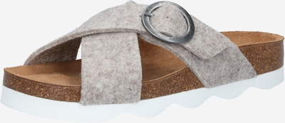 SHEPHERD OF SWEDEN Hausschuh in greige, Produktansicht