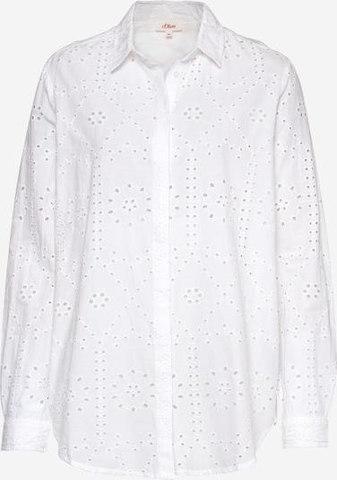 s.Oliver Blouse in de kleur Wit, Productweergave