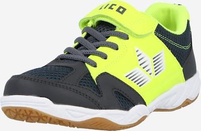 LICO Sneaker in gelb / neongrün / weiß, Produktansicht
