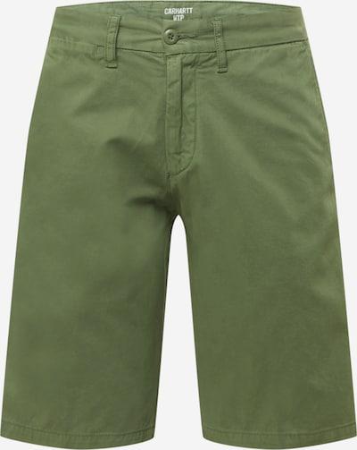 Pantaloni 'Johnson' Carhartt WIP pe oliv, Vizualizare produs