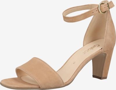 GABOR Sandale in beige, Produktansicht