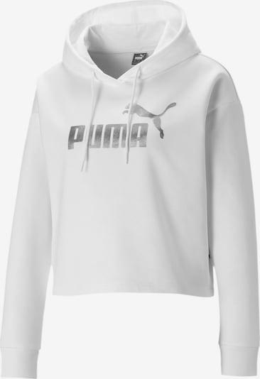 PUMA Pullover in grau / weiß, Produktansicht