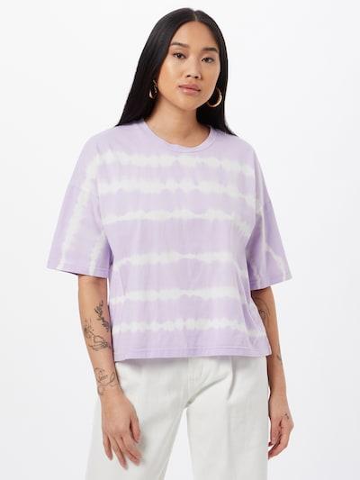 Noisy may Paita 'BUSTER' värissä pastellinvioletti / valkoinen: Näkymä edestä