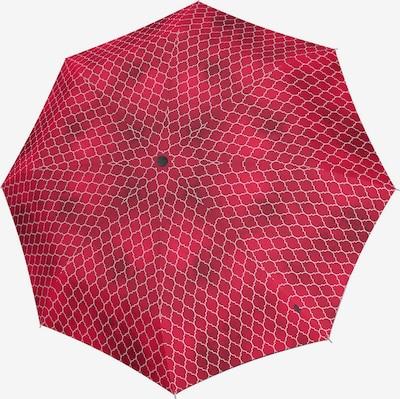KNIRPS Parapluie en gris foncé / rouge / blanc, Vue avec produit