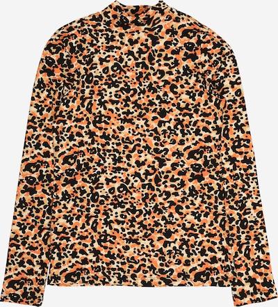 SCOTCH & SODA Shirt in creme / hellbraun / dunkelorange / schwarz, Produktansicht