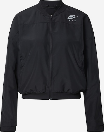 NIKE Sports jacket in Black / Silver, Item view