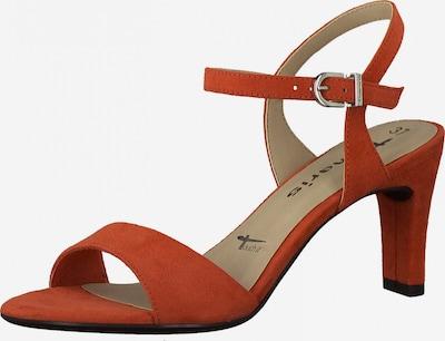 TAMARIS Sandale in rostrot, Produktansicht