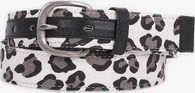 BUFFALO Gürtel 'Gabrielle' in grau / schwarz / weiß, Produktansicht