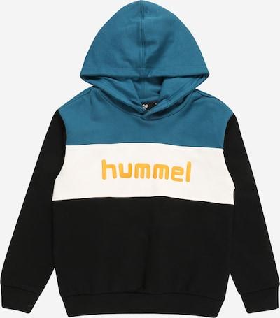 Hummel Athletic Sweatshirt 'Morten' in Honey / Petrol / Black / White, Item view