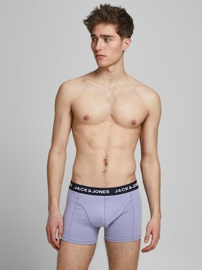 JACK & JONES Boxers en bleu clair / bleu foncé / vert / blanc, Vue avec modèle