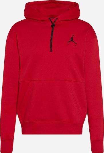 Jordan Majica 'Jumpman Air' | rdeča / črna barva, Prikaz izdelka