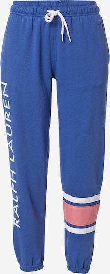 POLO RALPH LAUREN Pantalon en bleu / rose / blanc, Vue avec produit