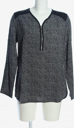 AMBRIA Langarm-Bluse in L in schwarz / weiß, Produktansicht