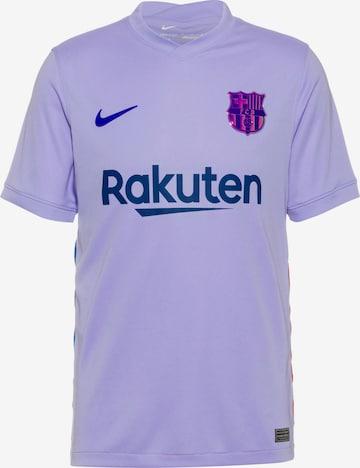 NIKE Dres 'FC Barcelona' - fialová