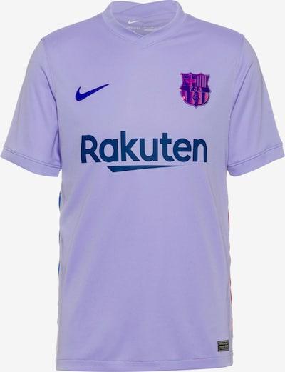 NIKE Maillot 'FC Barcelona' en bleu roi / violet clair / rouge feu, Vue avec produit