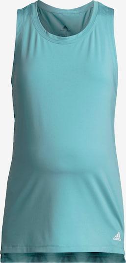 ADIDAS PERFORMANCE Športni top | turkizna barva, Prikaz izdelka