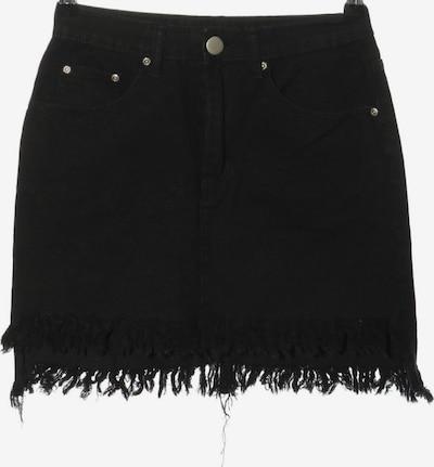 Boohoo Jeansrock in S in schwarz, Produktansicht
