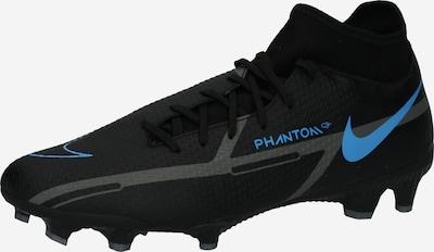 Ghete de fotbal NIKE pe albastru / negru, Vizualizare produs