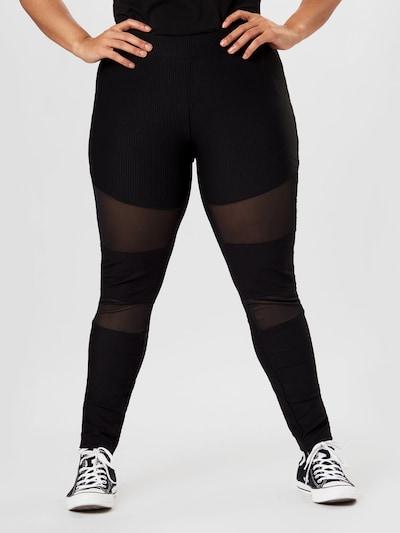 Urban Classics Curvy Legíny - černá, Model/ka
