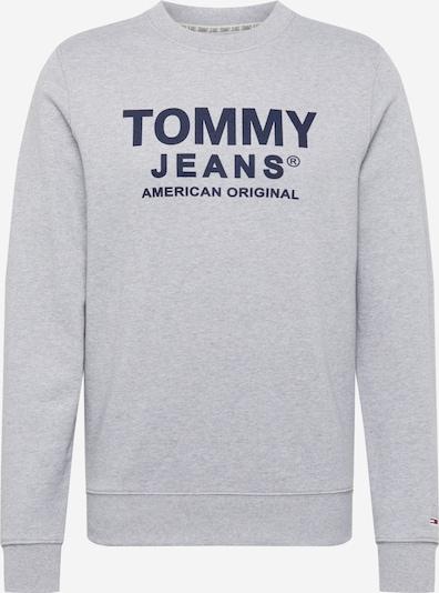 Tommy Jeans Sweatshirt in dunkelblau / graumeliert, Produktansicht