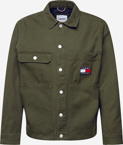 Giacca di mezza stagione Tommy Jeans di colore navy / oliva / rosso / bianco, Visualizzazione prodotti