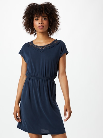 ONLY Letnia sukienka 'FREE' w kolorze niebieska nocm, Podgląd na modelu(-ce)