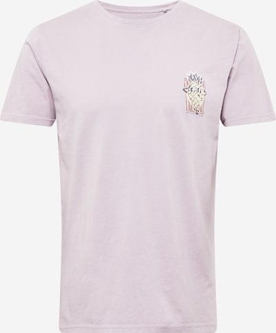 SHINE ORIGINAL T-Shirt in gelb / pastelllila / koralle / schwarz / weiß, Produktansicht