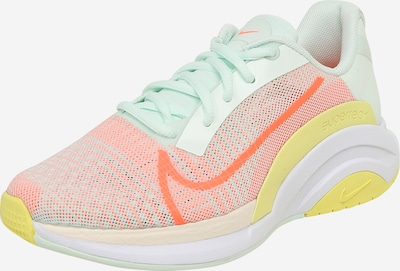 NIKE Running shoe in yellow / mint / coral, Item view