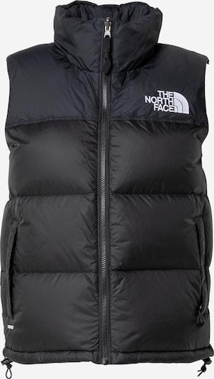 THE NORTH FACE Weste '1996 RETRO NUPTSE' in schwarz / weiß, Produktansicht