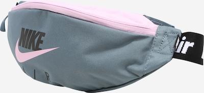 Nike Sportswear Pojasna torbica 'Air Heritage' u golublje plava / roza: Prednji pogled