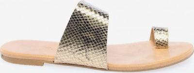 Bianco Zehentrenner-Sandalen in 39 in gold, Produktansicht