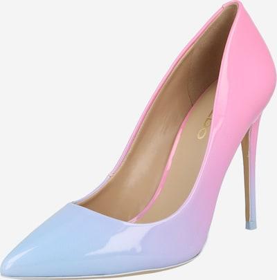 ALDO Zapatos con plataforma 'STESSY' en azul claro / rosa, Vista del producto