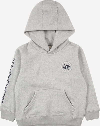 QUIKSILVER Sportska sweater majica 'RETURN TO THE SEA' u morsko plava / siva melange / bijela, Pregled proizvoda