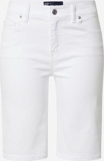 Jeans GAP pe alb, Vizualizare produs