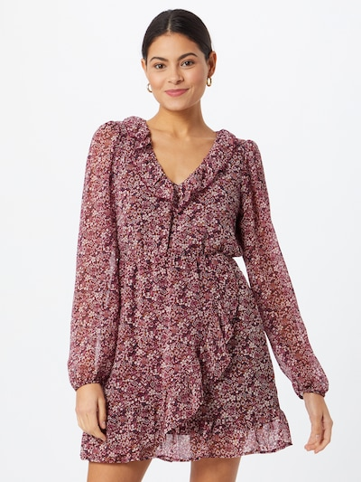 Tally Weijl Kleid in mischfarben / burgunder, Modelansicht