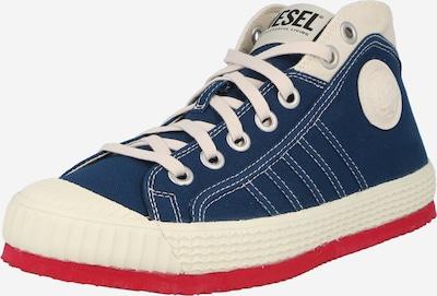DIESEL Sneaker in blau / weiß, Produktansicht