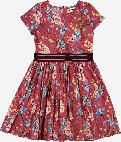 Molo Kleid 'Candy' in hellblau / gelb / oliv / mischfarben / pitaya, Produktansicht