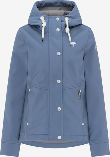 Schmuddelwedda Tussenjas in de kleur Blauw / Wit, Productweergave