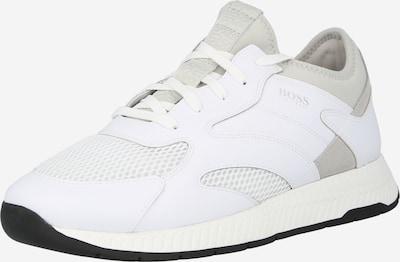 BOSS Casual Baskets basses 'Titanium Runn' en gris clair / blanc, Vue avec produit