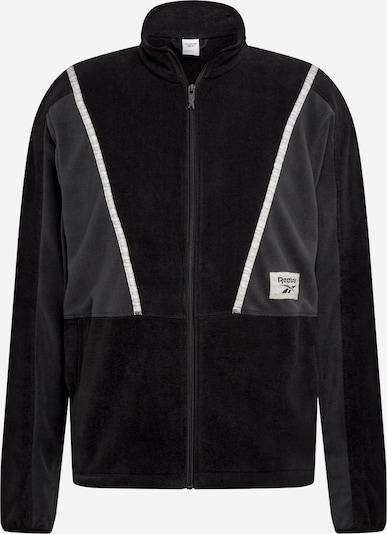 Reebok Classic Sportsweatshirt in de kleur Grijs / Zwart / Wit, Productweergave