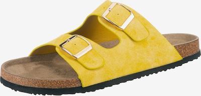 ambellis Pantolette in gelb, Produktansicht