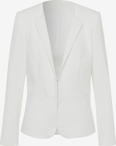Uta Raasch Blazer mit Rundhals-Ausschnitt in weiß, Produktansicht
