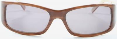 B&C Retro Brille in One Size in creme / bronze, Produktansicht
