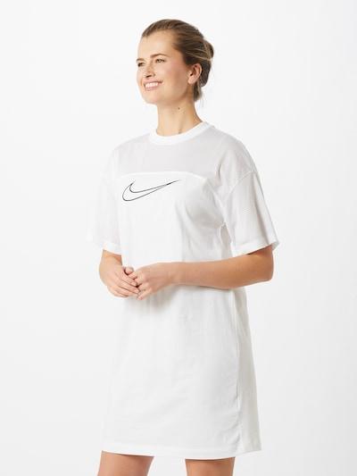 NIKE Kleid in schwarz / weiß, Modelansicht