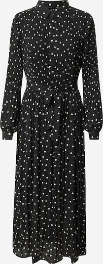VERO MODA Kleid in schwarz / weiß: Frontalansicht