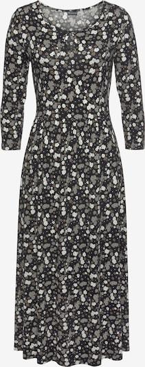 LAURA SCOTT Jerseykleid in grau / anthrazit / hellgrau / weiß, Produktansicht