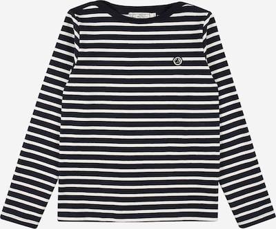 PETIT BATEAU T-Shirt in nachtblau / weiß, Produktansicht