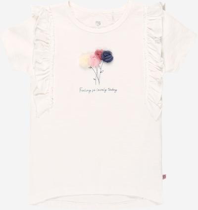 BASEFIELD Тениска в виолетов / бледорозово / розе / мръсно бяло, Преглед на продукта